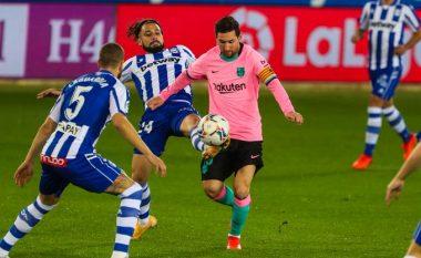Vazhdon forma e dobët e Barcelonës në La Liga, barazon me Alavesin