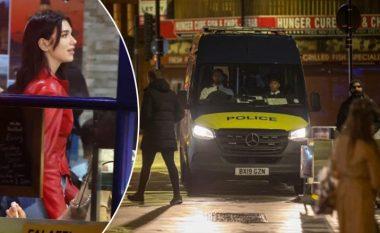 Theu rregullat dhe kufizimet e COVID-19, Policia ndërhyn duke ndërprerë xhirimet e klipit të Dua Lipës në Londër