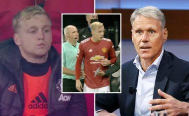 Van de Beekut i thuhet nga Van Basten se ka gabuar me kalimin e tij te Manchester United