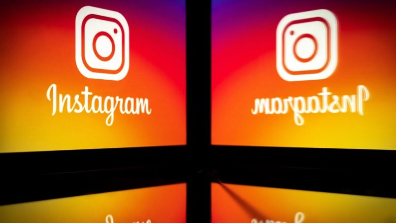 This picture taken on September 28, 2020 shows the logo of the social network Instagram on a smartphone, in Toulouse, southwestern France. - The Instagram group will, in early October 2020, celebrate its ten-year anniversary. (Photo by Lionel BONAVENTURE / AFP) (Photo by LIONEL BONAVENTURE/AFP via Getty Images)