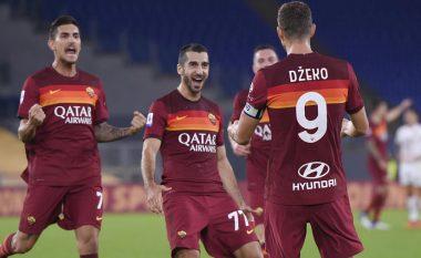 Roma triumfon në ndeshjen me shumë gola ndaj Beneventos