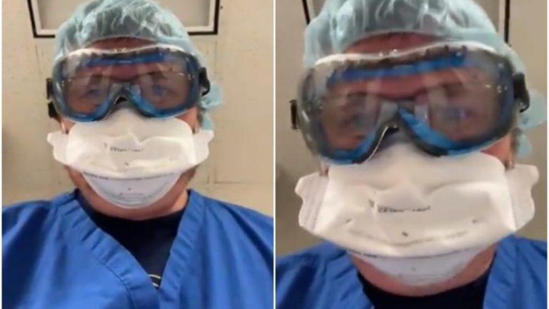 Mjeku amerikan publikon një video, me të cilën tregon se çfarë shohin për herë të fundit njerëzit që vdesin nga COVID-19