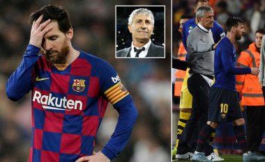 Ish-trajneri i Barcelonës, Setien i kishte thënë Messit: Nëse nuk të pëlqen ajo çfarë them, ja ku është dera