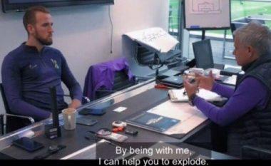 Video e Mourinhos në takim me Kanen bëhet viral në internet: Të jesh me mua, mund të ndihmoj të eksplodosh