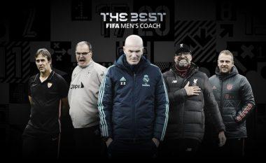 Trajnerët e nominuar nga FIFA për çmimin 'The Best'
