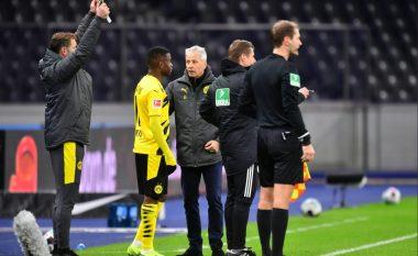 Youssoufa Moukoko thyen rekordin, bëhet lojtari më i ri që luan në Bundesliga