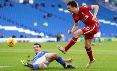 Liverpooli lëshon fitoren nga dora ndaj Brightonit