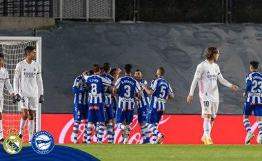 Real Madridi mposhtet nga Alavesi në shtëpi