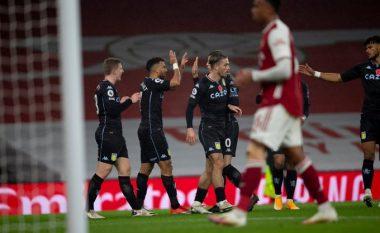 Aston Villa nënshtron Arsenalin në Emirates