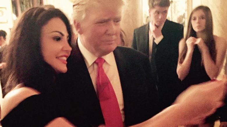 Bleona Qereti dhe Donald Trump (Foto: Arkiv)