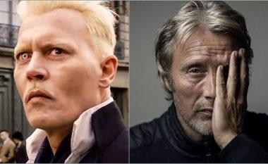 """Mads Mikkelsen mund ta zëvendësojë Johnny Deppin në filmin """"Fantastic Beasts 3"""""""