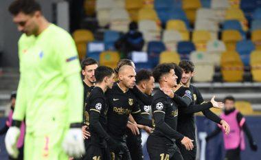 Barcelona fiton lehtësisht ndaj Dynamo Kyiv dhe siguron kalimin nga Grupi F