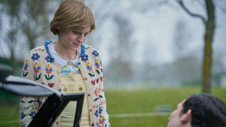 Emma Corrin në rolin e princeshës Diana (Foto: Netflix)
