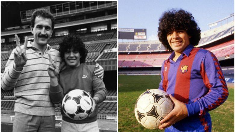 Hendbollisti shqiptar Petrit Fejzullahu që kishte miqësi me Maradonën gjatë kohë kur të dy përfaqësonin klubin e Barcelonës
