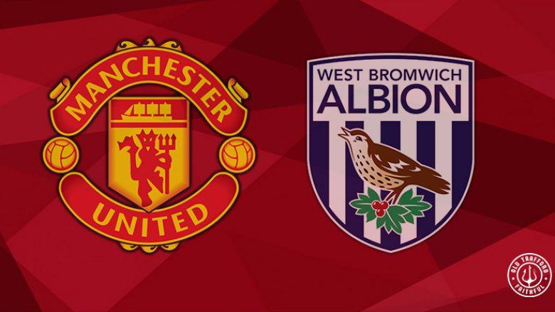 Formacionet zyrtare, Manchester United – WBA