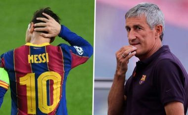 'Kush jam unë që ta ndryshoj?!' - Setien pranon se Messi është i vështirë për t'u menaxhuar
