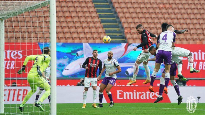I pandalshëm Milani, nënshtron Fiorentinan dhe rrit diferencën në krye të tabelës