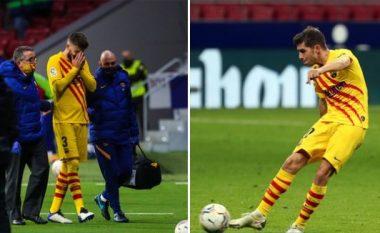 Barcelona njofton për lëndimet e Pique dhe Roberto, dëmtimi i qendërmbrojtësit duket serioz