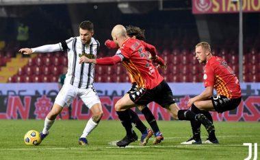 Juventusi bën hap fals - ndalet nga Benevento