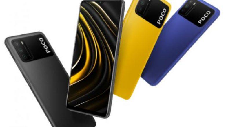 Poco M3 paraqiti telefonin inteligjent me bateri të madhe për 149 euro