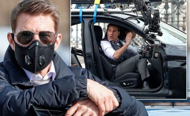 """Tom Cruise ndalon përkohësisht xhirimet e filmit """"Mission Impossible 7"""", pasi ekipi nuk i respektonte masat antiCOVID"""