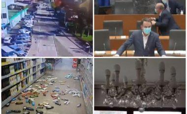 Dridhjet janë ndjerë deri në Austri e Itali, tërmeti që goditi sot Kroacinë ndërpreu edhe seancën në Parlamentin slloven