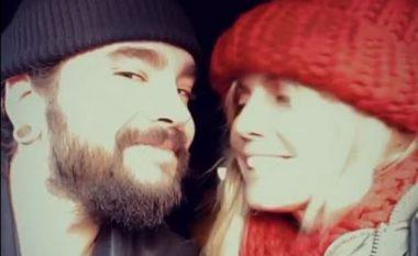 Heidi Klum ndan video teksa shkëmben puthje me Tom Kaulitz