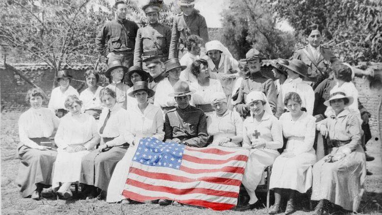 Tiranë, 1920: Festimi i 4 Korrikut, ditës së pavarësisë së ShBA-së