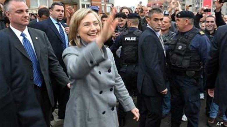 Vizita në Prishtinë e sekretares amerikane të Shtetit, Hillary Clinton
