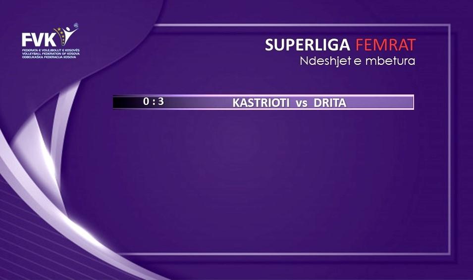 Ndeshjet e mbetura F - Volejboll: Drita lider në konkurrencën e femrave, Ferizaj në atë të meshkujve