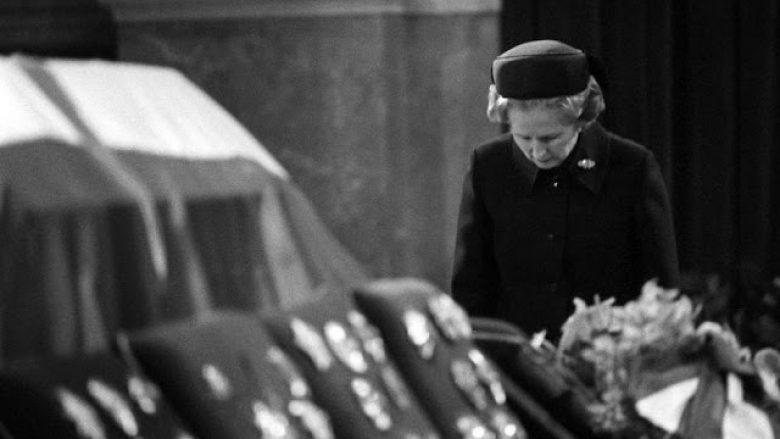 Margaret Thatcher, homazh Titos