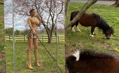Bella Hadid jep ide për një kombinim të bukur vjeshtor