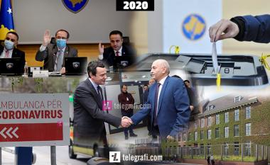 Top ngjarjet e vitit 2020 – ballafaqimi me pandeminë, rrëzimi i dy qeverive dhe aktakuzat e para nga Specialja