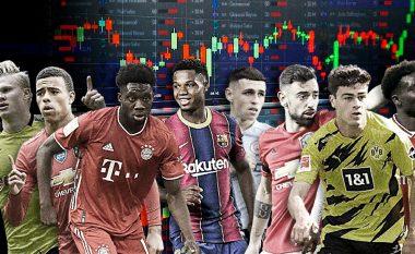 """""""Yjet që kanë thyer bankën"""" – 21 futbollistët vlera e të cilëve është rritur më shumë në vitin 2020"""