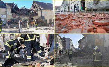 """""""Si në Hiroshima!"""": Tërmeti në Kroaci, pamjet janë të frikshme – dëgjohen britma, ka të lënduar dhe të vdekur"""