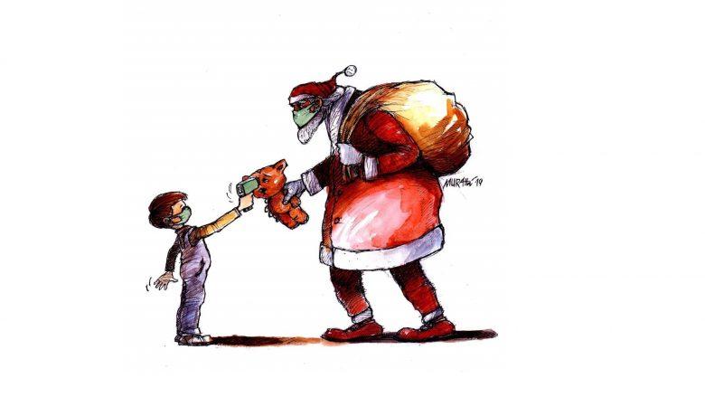 Karikaturë e punuar nga mjeshtri Murat Ahmeti