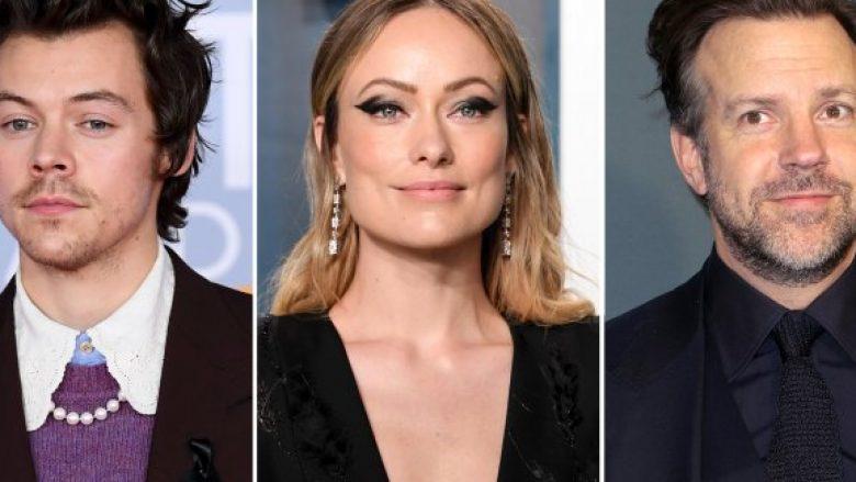 Harry Styles, Olivia Wilde dhe Jason Sudeikis. David (Foto: Fisher/Shutterstock; Anthony Harvey/Shutterstock; John Salangsang/Shutterstock)