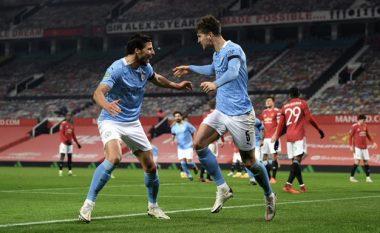 City mposht Unitedin në Old Trafford dhe i bashkohet Tottenhamit në finalen e EFL Cup