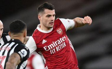 Arsenal 3-0 Newcaslte, nota e Granit Xhakës dhe të tjerëve