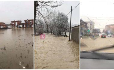 Vërshime në disa pjesë të Kosovës nga reshjet e dendura të shiut