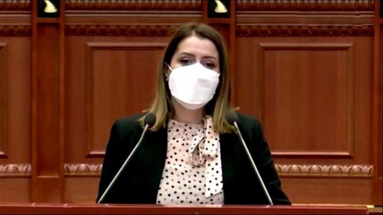 Ministrja e Shëndetësisë, Ogerta Manastriliu