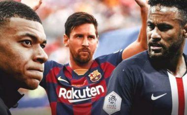 """""""Formacioni për të pushtuar Evropën"""", 11-shja që PSG synon të ndërtojë rreth Messit, Neymarit dhe Mbappes"""