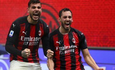 U dyshua për infektim me COVID-19, por Theo Hernandez dhe Calhanoglu i kthehen stërvitjeve me Milanin