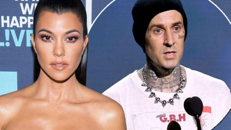 Kourtney Kardashian dhe Travis Barker Foto: Mirror