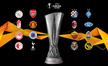 Hidhet shorti për 1/8-tën e Ligës së Evropës, Man Utd-Milan kryendeshja e kësaj faze