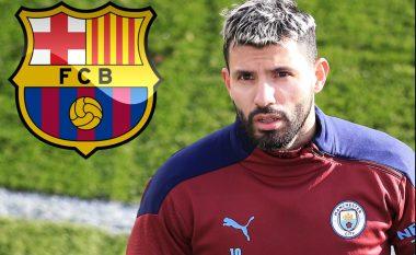 Aguero i etur për t'u transferuar te Barcelona