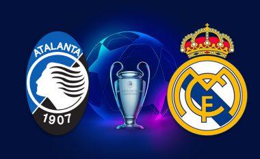 Real Madridi fton 19 lojtarë për përballjen me Atalantën