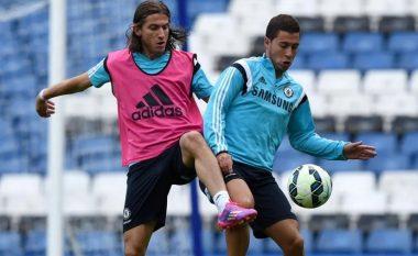 Filipe Luis: Hazard është në nivel me Messin, por i mungon ambicia për t'u bërë më i miri në botë