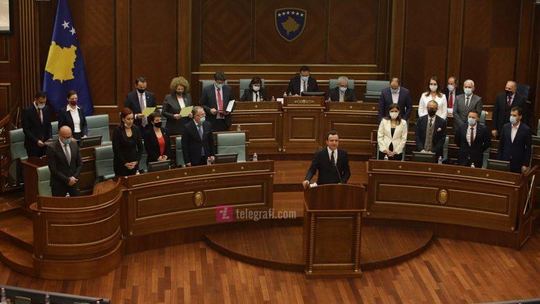 Kabineti i Qeverisë Kurti 2 / Foto: Ridvan Slivova
