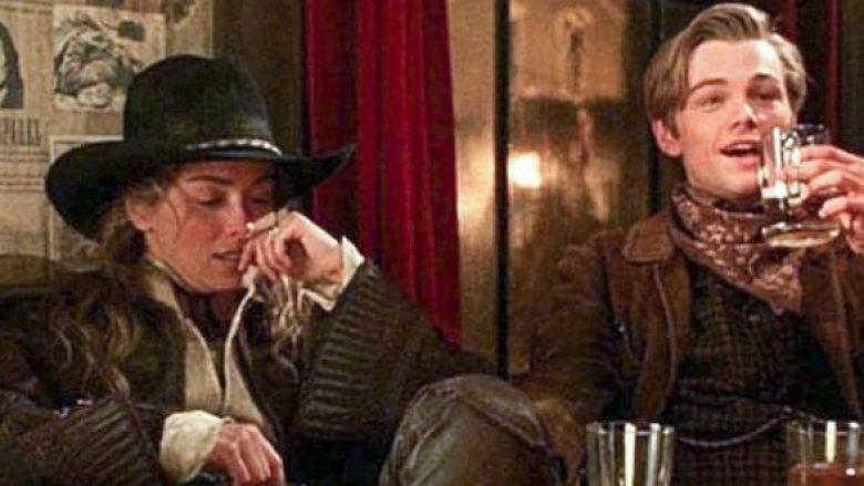 Sharon Stone dhe Leonardo DiCaprio (Foto: TriStar)